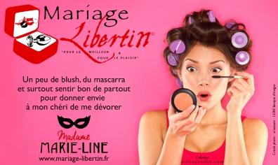 Affiche-MariageLibertin-MadameMarieLine